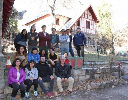 Estudiantes de Primer año de Ingeniería en Acuicultura visitan Centro de Piscicultura más antiguo del País.