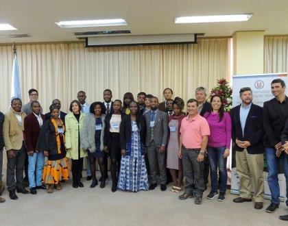 Becarios de África inician en Coquimbo curso de acuicultura sustentable con expertos de la UCN